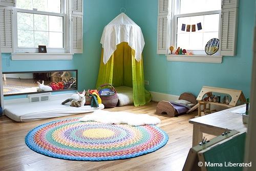 aménager la chambre d'un enfant façon Montessori