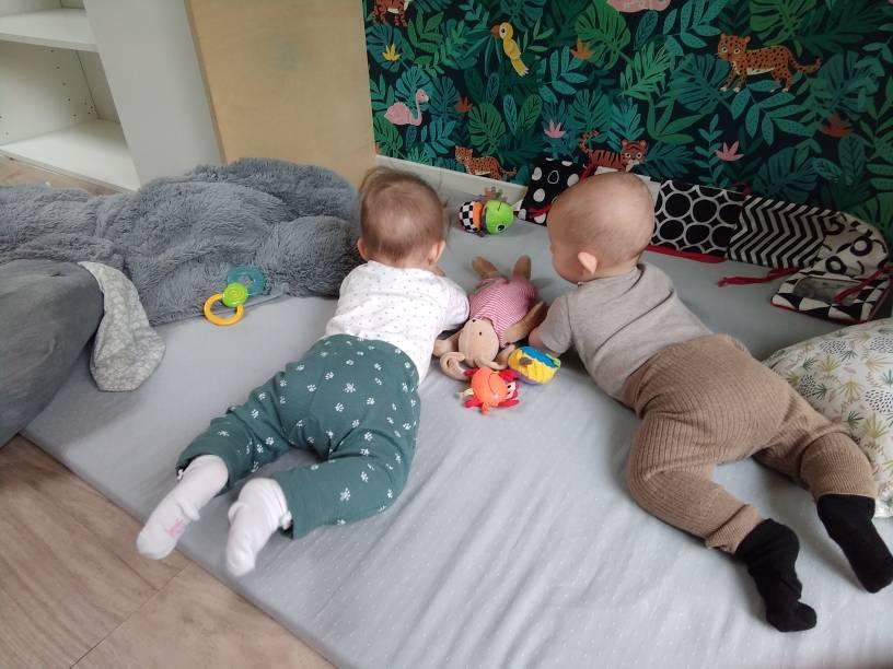 aménager un coin motricité pour les bébés