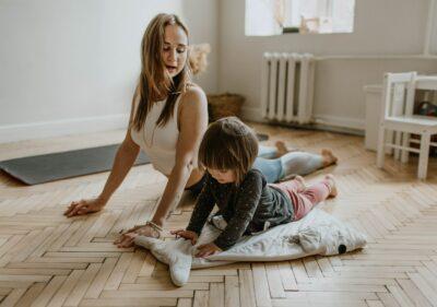 Yoga pro et enfant